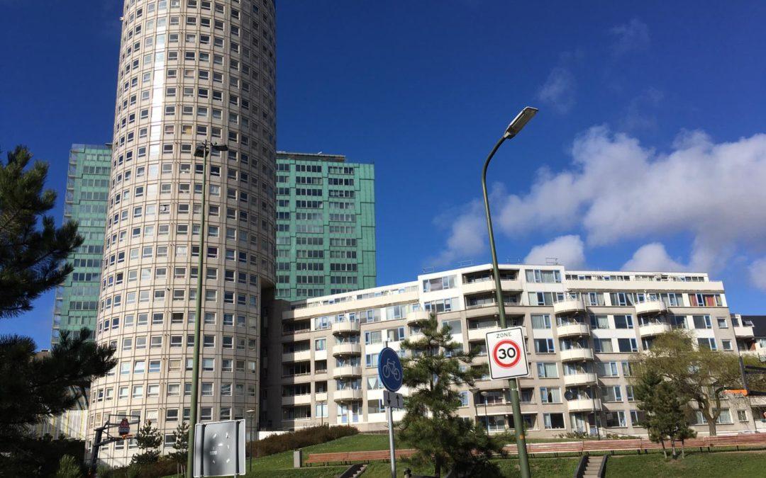 De Witte Anna is het eerste Lief en Leed-hoogbouwcomplex in Den Haag!