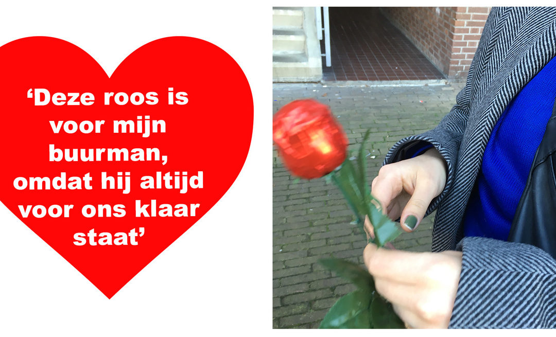Valentijnsdag in de Francois Valentijnstraat