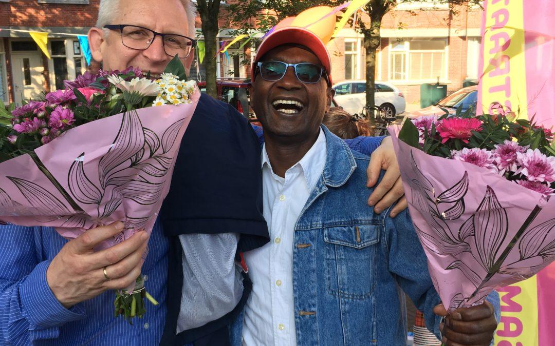 Buurbloemetje in Bezuidenhout West levert twee nieuwe gangmakers op!