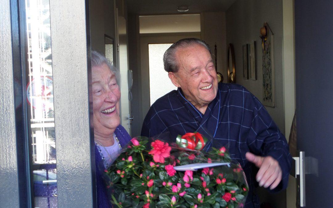 Een platina huwelijk in de Zwedenburg